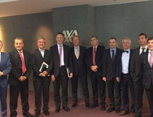 Visita a España de Thomas Buberl, Director General Adjunto del Grupo Axa
