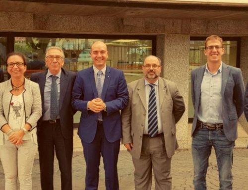 Reunión de responsables de Axa con parte de nuestro equipo